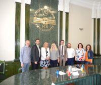 Зустріч делегації УМКС в місті Хмельницькому