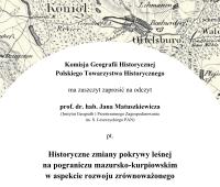 Odczyt  prof. dr. hab. Jana Matuszkiewicza - Historyczne...