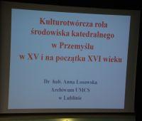 Wykłady pracowników naukowych UMCS w Przemyślu