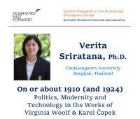Invited lecture: dr Verita Sriratana