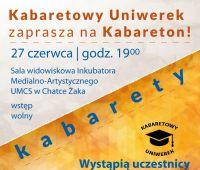 Kabaretowy Uniwerek zaprasza na Kabareton