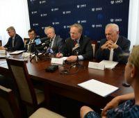 Konferencja prasowa dot. stosunków polsko-ukraińskich