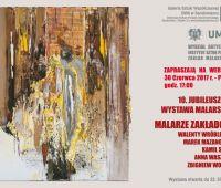 Wystawa jubileuszowa Malarze Zakładowi