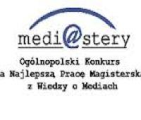 Medi@stery! - IV edycja Konkursu na Najlepszą Pracę...