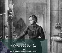 Rocznica śmierci Marii Curie-Skłodowskiej