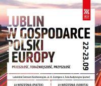 Lublin w gospodarce Polski i Europy - konferencja