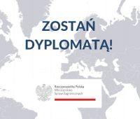 Nabór MSZ na aplikację dyplomatyczno-konsularną