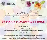 Odbiór karnetów na IV Piknik Pracowniczy UMCS