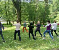 Zajęcia TAI CHI we wrześniu w Ogrodzie