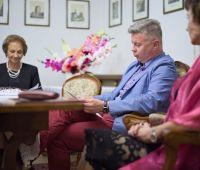 Relacja z Narodowego Czytania w Dworku Kościuszków
