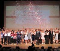 Nasza delegacja na festiwalu języka rosyjskiego w...