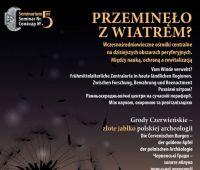 Wczesnośredniowieczne ośrodki centralne (...) - konferencja