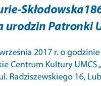 Wystawa Maria Curie-Skłodowska 1867-1934 - zaproszenie