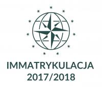 Immatrykulacja 2017/2018