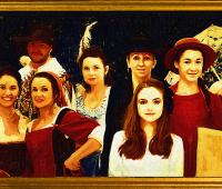 """Spektakl """"Wystawa światowego malarstwa na 700-lecie..."""
