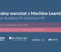 Bezpłatny warsztat z Machine Learning!