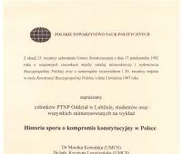 Zaproszenie na wykład - PTNP