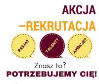 AKCJA – REKRUTACJA!