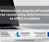 Blisko 3 miliony złotych na dalszą cyfryzację UMCS