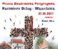 Akademicka Pielgrzymka do Wąwolnicy - 21 października