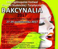 """31. Bakcynalia w """"Chatce Żaka"""" - zaproszenie"""