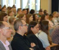 Prof. Tschandl i prof. Balcerowicz na WE - fotorelacja