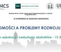"""III Konferencja Naukowo-Branżowa """"Rynek..."""