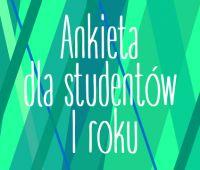 Ankieta dla studentów I roku