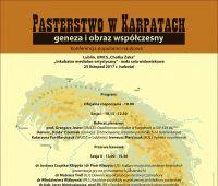 Konferencja: Pasterstwo w Karpatach – geneza i obraz...