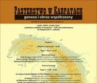 Pasterstwo w Karpatach - konferencja (ACK 25.11.2017)