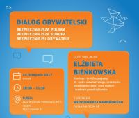 Spotkanie z komisarz Elżbietą Bieńkowską (14.11.)