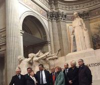 Obchody urodzin Marii Curie-Skłodowskiej w Paryżu