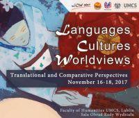 "Konferencja ""Languages - Cultures - Worldviews""..."