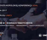 """VIII edycja ogólnopolskiej konferencji """"GOAL"""""""
