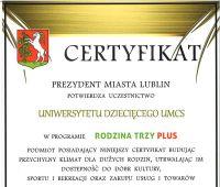 Uniwersytet Dziecięcy UMCS Partnerem Miasta Lublina