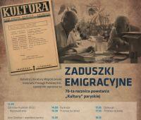 """Zaduszki emigracyjne: 70-ta rocznica powstania """"Kultury""""..."""