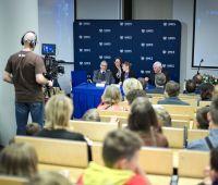 Transmisja ze spotkania z wnukami Patronki UMCS