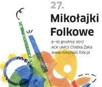 Mikołajki Folkowe - konferencje (7-8 grudnia 2017 r.)