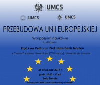 "Symposium ""Reconstructing European Union"""