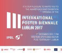 3. Międzynarodowe Biennale Plakatu. Lublin 2017