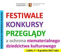 Zaproszenie na konferencję: Festiwale, konkursy,...