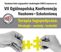 """Konferencja i warsztaty """"Terapia logopedyczna (…)""""..."""
