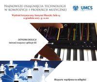 """""""Najnowsze osiągnięcia technologii muzycznej w..."""