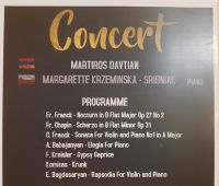 Dr hab. Małgorzata Krzemińska-Sribniak koncertuje w Armenii