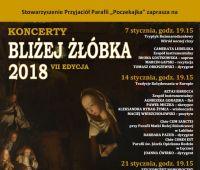 BLIŻEJ ŻŁÓBKA – koncerty kolędowe na Poczekajce