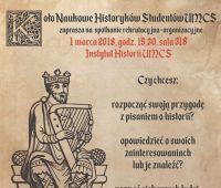Spotkanie rekrutacyjne Koła Naukowego Historyków Studentów