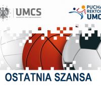Ostatnie dni zapisów na Turniej o Puchar Rektora!
