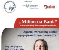 Konkurs wiedzy finansowej MILION NA BANK