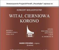 Koncert Wielkopostny WITAJ CIERNIOWA KORONO