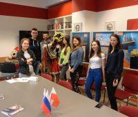 Wizyta uczniów z LO nr I w Otwocku